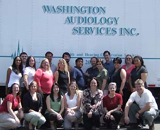 Audiologists, Technicians and Support Staff at Washington Audiology Services